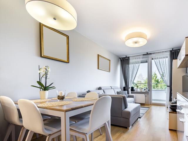 きれいなマンションの部屋